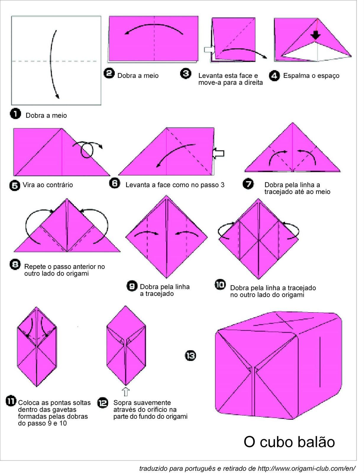 Как из бумаги сделать объемный куб из бумаги схема